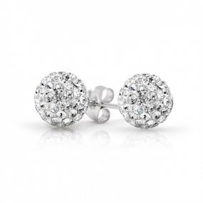 Deals for a Penny, Just Pay Shipping - Diamond Pave Shamballa Studs