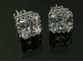 Eloquent Austrian Crystal Earrings.....FREE SHIPPING