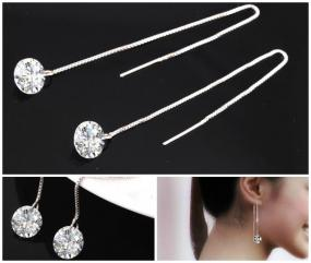 Crystal Dangle Drop Earrings......FREE SHIPPING