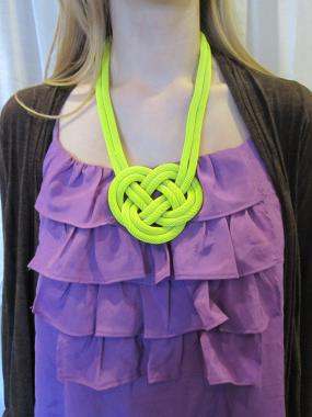 Josephine Love Knot Necklace - FREE SHIP!