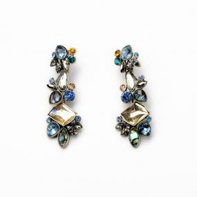 Dazzling Gemstone Earrings.....FREE SHIPPING
