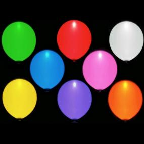 $12 for 10 Assorted Color LED Light Up Balloons