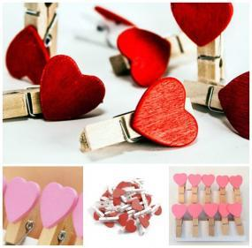 Blair's Cancerversary Set of 10 Mini Heart Clips  Deal
