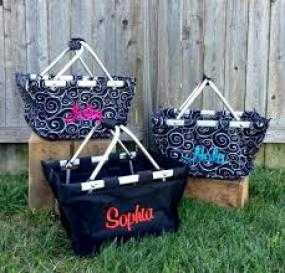 Personalized Mini Market Totes!