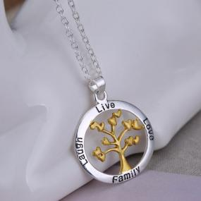 Family Life Tree Necklace - Free Shipping