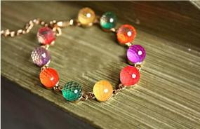 Candy Colored Crystal Bracelet